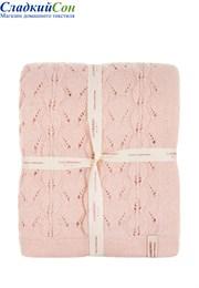 Плед детский Imperio 77 Luxberry 75х100 Шерсть 80% Полиамид 20% розовый