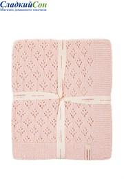 Плед детский Imperio 81 Luxberry 75х100 Шерсть 80% Полиамид 20% розовый