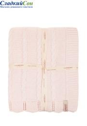 Плед детский Imperio 93 Luxberry 75х100 Хлопок 100% розовый