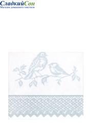 Чехол для бортика СИНИЧКИ 45x390 белый/голубой