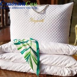 Одеяло Elisabette PREMIUM Kingsilk всесезонное шелковое P-AA-150-1-Bel белое