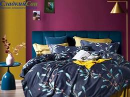 Комплект постельного белья Asabella евро египетский хлопок 1590-6