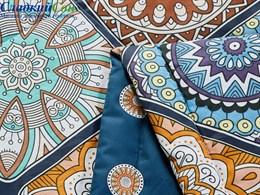 Одеяло летнее Asabella тенсел в хлопке 160х220 см 1601-os