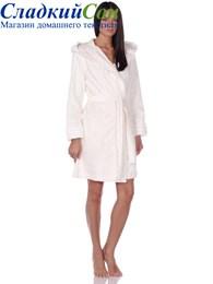 Махровый халат с капюшоном Vivienne (EMD)