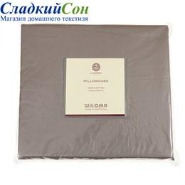 Простыня прямая Luxberry сатин 220*240 мокко