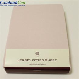 Простыня на резинке Luxberry 130*75*25 розовая