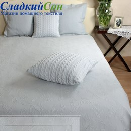 Покрывало Luxberry COUNTRY 220*240, цвет: голубой