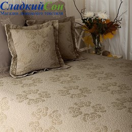 Покрывало Luxberry Golden Cloud бежевое 240*260