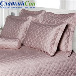 Покрывало Luxberry PEARL 240*260, цвет: розово-жемчужный