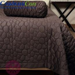 Покрывало Luxberry Stone шоколад 240*260