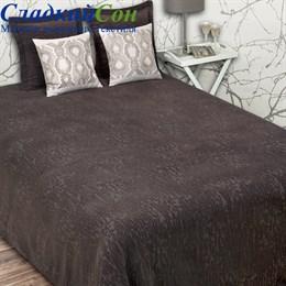 Покрывало Luxberry VELVET 240*260, цвет: темный шоколад