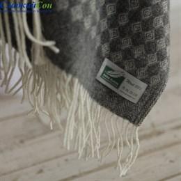 Плед Flaum Neuseeland Wolle Simon темно-серый