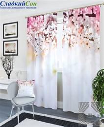 Комплект фотоштор ТомДом Цветущая вишня