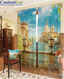 Комплект фотоштор ТомДом Утренняя Венеция