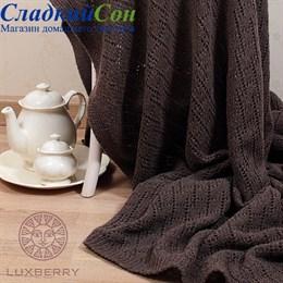 Плед Luxberry Imperio 172 150*200, цвет: ореховый