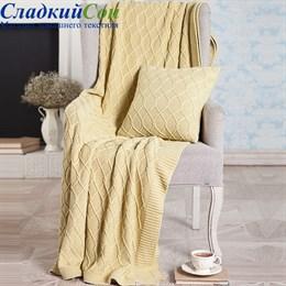 Плед Luxberry LUX 34 150*200, цвет: горчичный