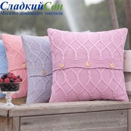 Наволочка Luxberry Lux 34, цвет: французский розовый
