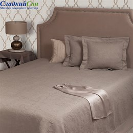 Покрывало Luxberry COUNTRY LUX 240*260, цвет: табачный