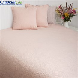 Покрывало Luxberry SANDAL 240*260, цвет: розовая пудра