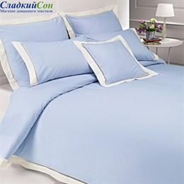 Пододеяльник Luxberry ВЕСЕННИЙ САД 200*220, цвет: голубой/экрю