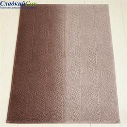 Коврик Luxberry ART1 65*90, цвет: бежевый/коричневый