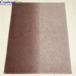 Коврик Luxberry ART1 70*120, цвет: бежевый/коричневый