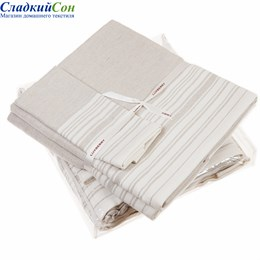 Полотенце Luxberry SPA3, цвет: белый/льняной