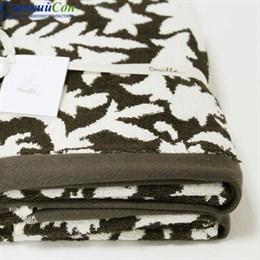 Полотенце Luxberry VITA, цвет: коричневый/кремовый