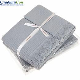 Полотенце Luxberry MACARONI, цвет: светло-серый