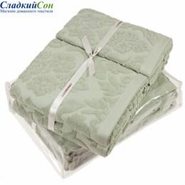 Полотенце Luxberry New England, цвет: английский зеленый
