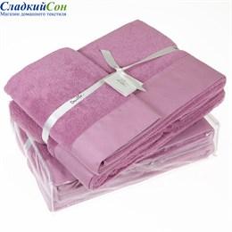 Полотенце Luxberry SENSES, цвет: фиалковый