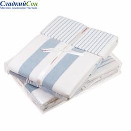 Набор полотенец Luxberry COTTAGE, цвет: белый/голубой