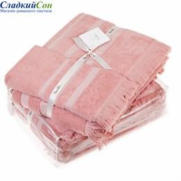 Набор полотенец Luxberry ISLAND, цвет: коралловый