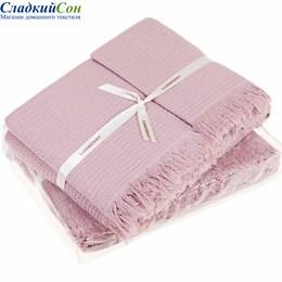 Набор полотенец Luxberry MACARONI, цвет: розовый