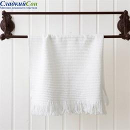 Полотенце кухонное Luxberry MACARONI, цвет: белый
