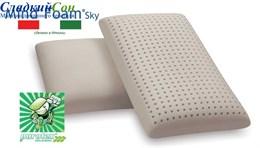 Подушка Vefer s.p.a. Mind Foam Sky Saponetta Maxi c чехлом