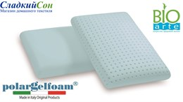 Подушка Vefer s.p.a. Polargel Foam Portogallo c чехлом