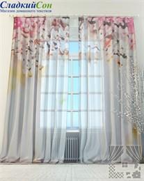 Тюль ТомДом В цвету