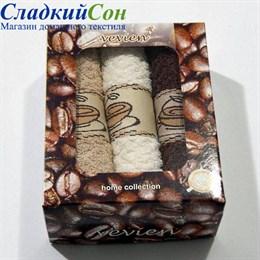 Набор полотенец Vevien Pol-65-1 Кофе