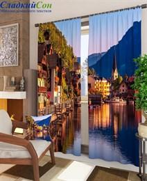 Комплект фотоштор ТомДом Городок в Австрии