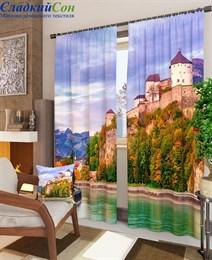 Комплект фотоштор ТомДом Замок в Австрии