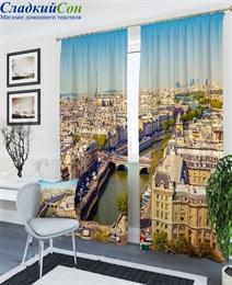 Комплект фотоштор ТомДом Архитектурный пейзаж