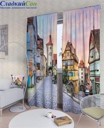 Комплект фотоштор ТомДом Немецкий городок