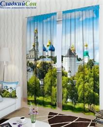 Комплект фотоштор ТомДом Белый монастырь