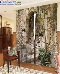 Комплект фотоштор ТомДом Старинная дверь