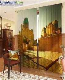 Комплект фотоштор ТомДом Рассвет в мечети