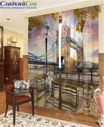 Комплект фотоштор ТомДом Мост над Темзой