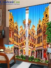 Комплект фотоштор ТомДом Гранд-плас в Брюсселе