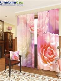 Комплект фотоштор ТомДом Розовые розы