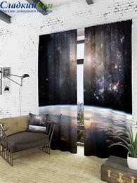 Комплект фотоштор ТомДом Ночная планета